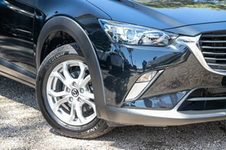 2017 Mazda CX-3 DK2W7A Maxx SKYACTIV-Drive Jet Black 6 Speed Sports Automatic Wagon.