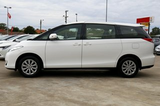 2018 Toyota Tarago ACR50R GLi Glacier White 7 Speed Constant Variable Mini Bus