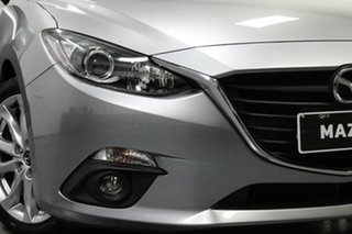 2014 Mazda 3 BM5436 SP25 SKYACTIV-MT Silver 6 Speed Manual Hatchback.