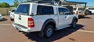 2007 Ford Ranger PJ XL Hi-Rider White 5 Speed Manual Cab Chassis