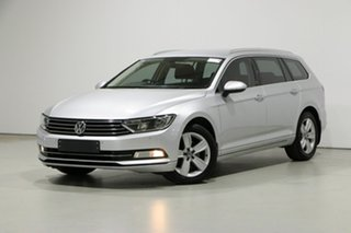 2016 Volkswagen Passat 3C MY16 132 TSI Silver 7 Speed Auto Direct Shift Wagon.