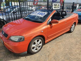 2004 Holden Astra TS MY03 Gold Mica 4 Speed Automatic Convertible