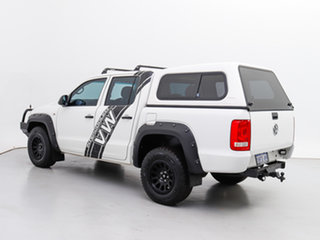 2013 Volkswagen Amarok 2H MY13 TDI400 (4x4) White 6 Speed Manual Dual Cab Chassis