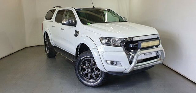 Used Ford Ranger PX MkII XLT Double Cab Elizabeth, 2017 Ford Ranger PX MkII XLT Double Cab White 6 Speed Sports Automatic Utility