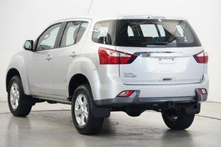 2016 Isuzu MU-X MY15.5 LS-M Rev-Tronic 4x2 Silver 5 Speed Sports Automatic Wagon
