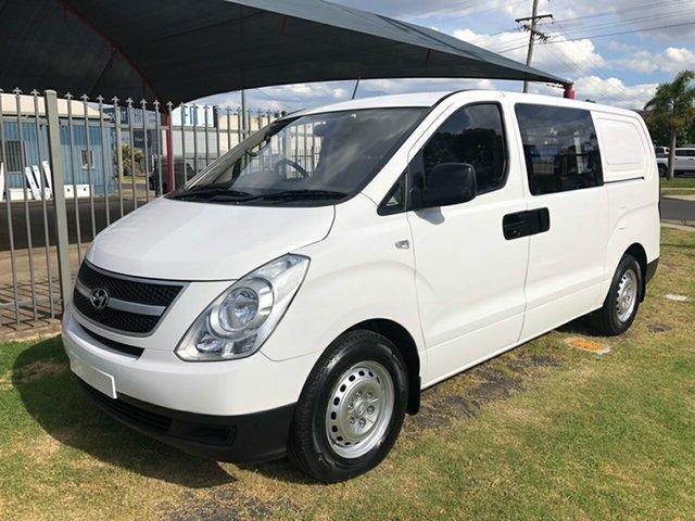 Used Hyundai iLOAD TQ MY15 Toowoomba, 2014 Hyundai iLOAD TQ MY15 White 5 Speed Automatic Van