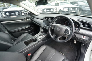 2019 Honda Civic 10th Gen MY19 RS White 1 Speed Constant Variable Sedan