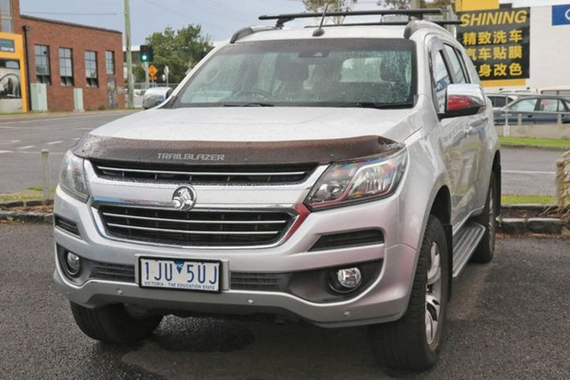 Used Holden Trailblazer RG MY17 LTZ Nunawading, 2017 Holden Trailblazer RG MY17 LTZ Silver 6 Speed Sports Automatic Wagon