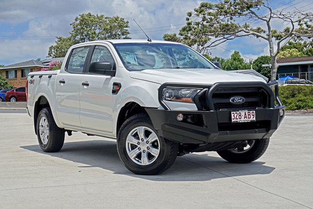 Used Ford Ranger PX MkII XL Capalaba, 2016 Ford Ranger PX MkII XL White 6 Speed Sports Automatic Utility