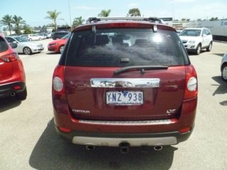 2008 Holden Captiva CG MY08 LX AWD Red 5 Speed Sports Automatic Wagon