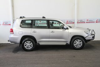 2011 Toyota Landcruiser VDJ200R MY10 GXL Silver Pearl 6 Speed Sports Automatic Wagon