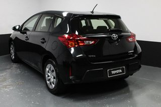 2015 Toyota Corolla ZRE182R Ascent S-CVT Black 7 Speed Constant Variable Hatchback