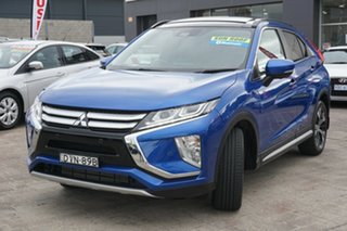 2017 Mitsubishi Eclipse Cross YA MY18 Exceed 2WD Blue 8 Speed Constant Variable Wagon