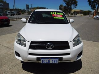 2010 Toyota RAV4 ACA38R MY09 CV 4x2 White 5 Speed Manual Wagon.