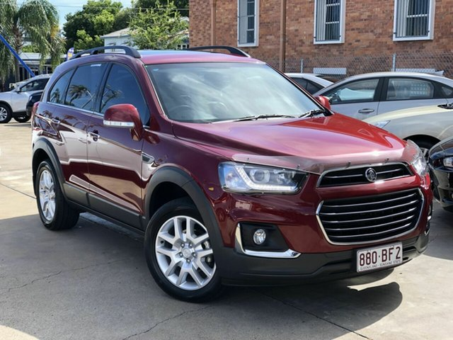 Used Holden Captiva CG MY17 Active 2WD Chermside, 2017 Holden Captiva CG MY17 Active 2WD Red 6 Speed Sports Automatic Wagon