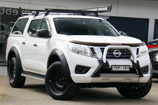 Used Nissan Navara D23 S2 SL Homebush, 2017 Nissan Navara D23 S2 SL White 7 Speed Sports Automatic Utility