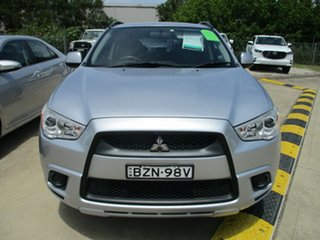 2011 Mitsubishi ASX XA MY11 2WD Silver 5 Speed Manual Wagon.
