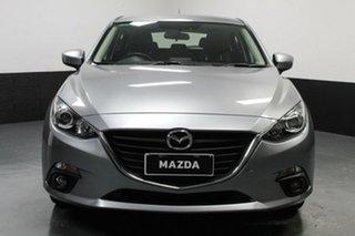 2014 Mazda 3 BM5436 SP25 SKYACTIV-MT Silver 6 Speed Manual Hatchback.