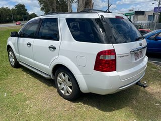 2005 Ford Territory SX Ghia AWD White 4 Speed Sports Automatic Wagon