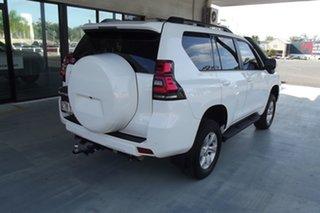2018 Toyota Landcruiser Prado GDJ150R GXL White 6 Speed Sports Automatic Wagon.
