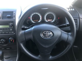 2008 Toyota Corolla ZRE152R Ascent Silver Metallic 4 Speed Automatic Sedan
