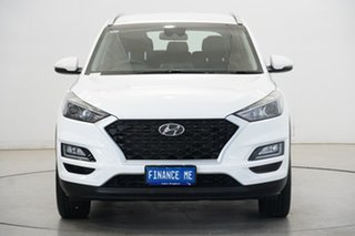 2020 Hyundai Tucson TL3 MY20 Elite 2WD Pure White 6 Speed Automatic Wagon.