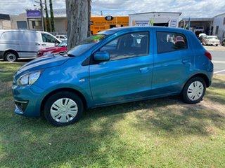 2018 Mitsubishi Mirage LA MY19 ES Blue 1 Speed Constant Variable Hatchback