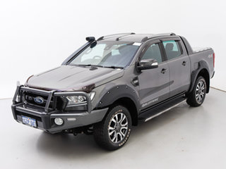 2017 Ford Ranger PX MkII MY17 Wildtrak 3.2 (4x4) Grey 6 Speed Automatic Dual Cab Pick-up