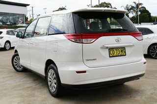 2018 Toyota Tarago ACR50R GLi Glacier White 7 Speed Constant Variable Mini Bus.