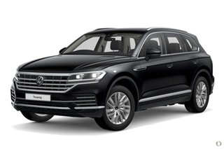 2020 Volkswagen Touareg CR MY21 170TDI Tiptronic 4MOTION Black 8 Speed Sports Automatic Wagon.