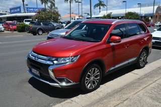 2016 Mitsubishi Outlander ZK MY16 LS (4x2) Red 5 Speed Manual Wagon