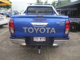 2016 Toyota Hilux GUN126R SR5 Double Cab Blue 6 Speed Manual Utility