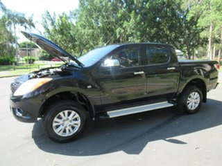 2012 Mazda BT-50 UP0YF1 GT Black 6 Speed Sports Automatic Utility