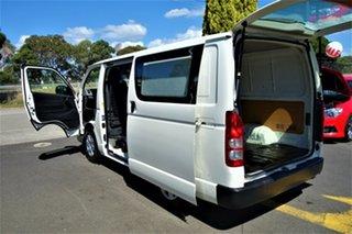 2013 Toyota HiAce TRH201R MY12 LWB White 5 Speed Manual Van
