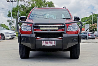 2015 Holden Colorado RG MY15 LTZ Crew Cab Red 6 Speed Manual Utility.