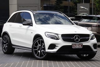 2016 Mercedes-Benz GLC-Class X253 GLC43 AMG 9G-Tronic 4MATIC Polar White 9 Speed Sports Automatic.