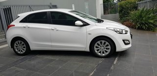 2016 Hyundai i30 GD4 Series 2 Active 1.6 CRDi White 7 Speed Auto Dual Clutch Hatchback