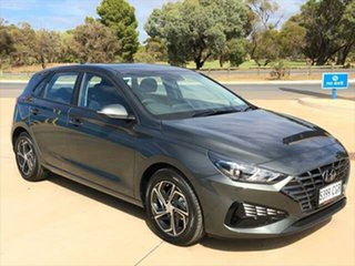 2020 Hyundai i30 PD.V4 MY21 Amazon Gray 6 Speed Sports Automatic Hatchback.