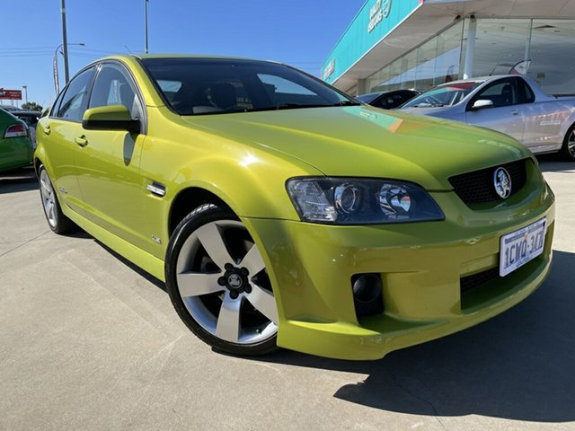 Used Holden Commodore VE MY09.5 SS-V Victoria Park, 2008 Holden Commodore VE MY09.5 SS-V Yellow 6 Speed Automatic Sedan