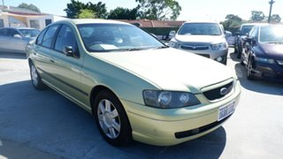 2005 Ford Falcon BF XT Green 4 Speed Sports Automatic Sedan.