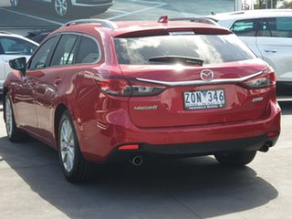 2012 Mazda 6 GJ1031 Touring SKYACTIV-Drive Red 6 Speed Sports Automatic Wagon.