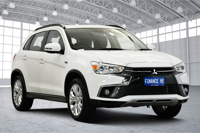Used Mitsubishi ASX XC MY19 ES 2WD Victoria Park, 2019 Mitsubishi ASX XC MY19 ES 2WD White 1 Speed Constant Variable Wagon