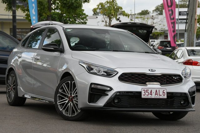 Used Kia Cerato BD MY19 GT DCT Windsor, 2019 Kia Cerato BD MY19 GT DCT Silver 7 Speed Sports Automatic Dual Clutch Hatchback