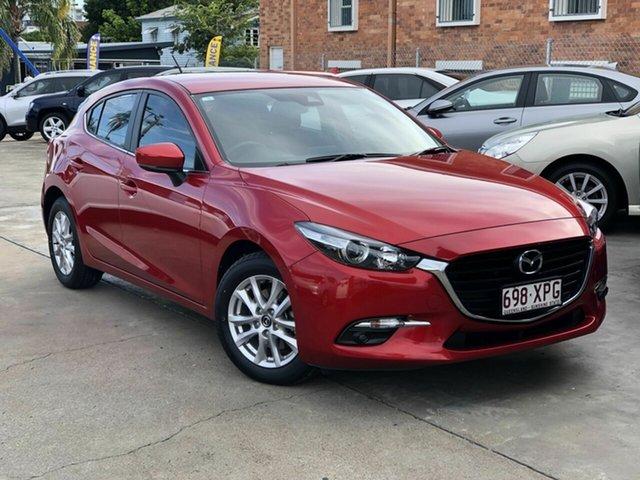 Used Mazda 3 BN5476 Maxx SKYACTIV-MT Chermside, 2017 Mazda 3 BN5476 Maxx SKYACTIV-MT Red 6 Speed Manual Hatchback