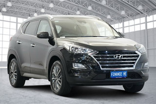 2020 Hyundai Tucson TL3 MY20 Elite D-CT AWD Phantom Black 7 Speed Sports Automatic Dual Clutch Wagon.