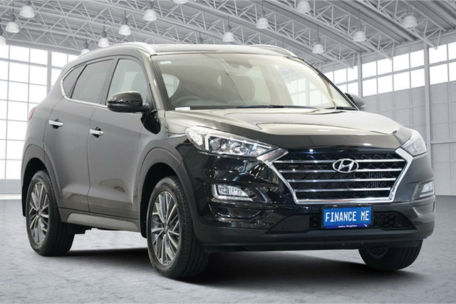 Used Hyundai Tucson TL3 MY20 Elite D-CT AWD Victoria Park, 2020 Hyundai Tucson TL3 MY20 Elite D-CT AWD Phantom Black 7 Speed Sports Automatic Dual Clutch Wagon