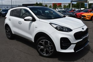 2020 Kia Sportage QL MY20 GT-Line AWD White 8 Speed Sports Automatic Wagon.