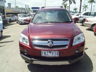 2008 Holden Captiva CG MY08 LX AWD Red 5 Speed Sports Automatic Wagon.