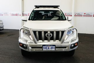 2014 Toyota Landcruiser Prado KDJ150R MY14 VX (4x4) Crystal Pearl 5 Speed Sequential Auto Wagon