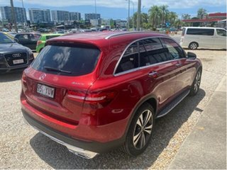 2018 Mercedes-Benz GLC250D X253 MY19.5 4Matic Red 9 Speed Automatic G-Tronic Wagon.